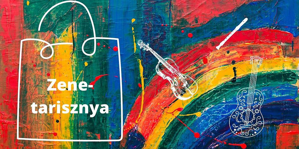 Zenetarisznya - előadás gyerekeknek, családoknak, a muzsika kedvelőinek.