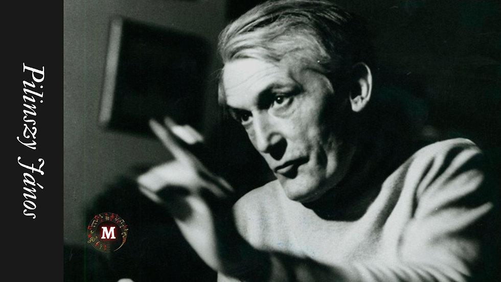 Pilinszky János magyar költőről készült portré