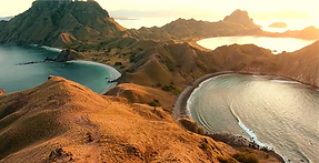 Sunrise at Padar with Komodo Boat Tour. Boat trip from lombok to komodo.
