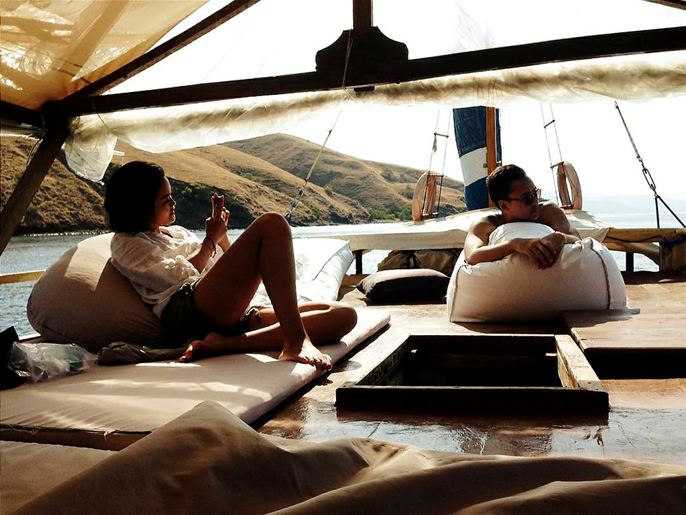 Private komodo island tour with Labalaba Boat. Komodo boat tour. komodo island cruise with Laba Laba Boat.