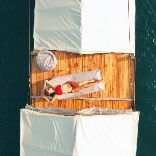 Komodo boat charter in Komodo Island