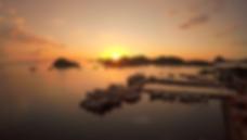 Labuan Bajo Sunset. Boat tour to komodo island from labuan bajo.