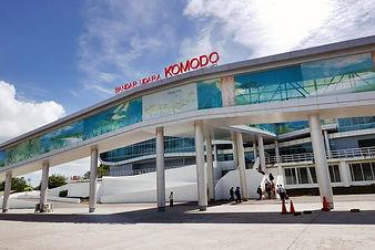Komodo Flughafen Wie komme ich nach Komodo?