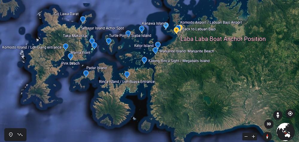 labalaba boat, komodo liveaboard, komodo liveaboard tour, komodo boat trip, komodo boat charter. komodo tour itinerary, komodo island map.