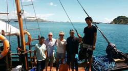 Tauchsafari Ausflug zur Insel Komodo mit einem privaten Boot