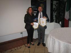 Prof. Maglioni e Presidente Briscagl