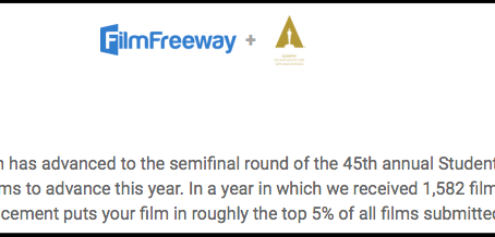 BABY is a semifinalist at the 45th Student Academy Awards!