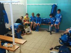 Match amical pour les U11A à Libourne mercredi après midi :