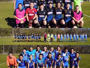 Match de championnat féminin contre Villenave d'Ornon :
