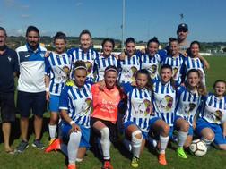 Première rencontre officielle pour notre équipe féminine contre Villenave d'Ornon :