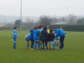 Dernier match U13 du championnat honneur District contre Colayrac .