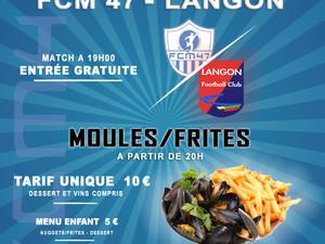 Soirée Moules/Frites au FC Marmande 47 le Samedi 08 Décembre :