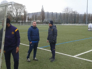 Match amical au Toulouse Football Club pour nos U14