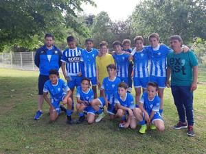 Les jeunes Marmandais U13 vainqueurs du tournoi de Castanet .