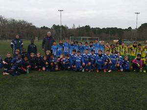 Plateau organisé par le club de Cestas avec nos joueurs U11