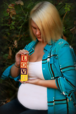 Straw pregnancy