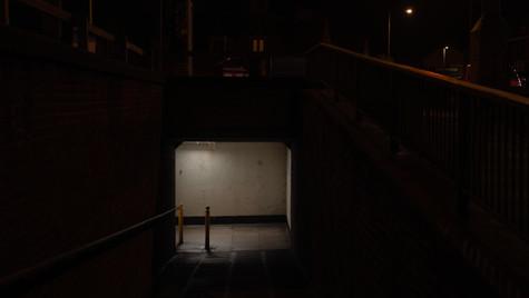 Subway At Night