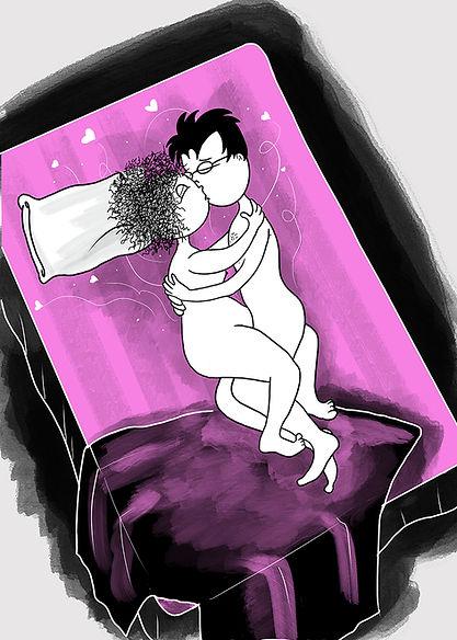 Rosa y gentil cama.jpg