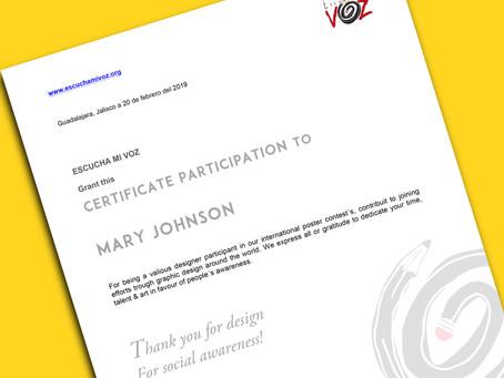 Certificados | Certificates