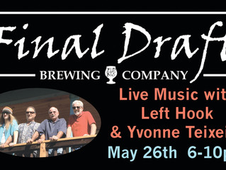 LIVE MUSIC WITH LEFT HOOK MAY 26th!