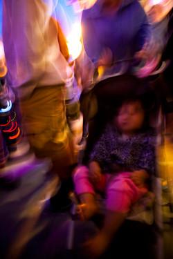 JRawlings stroller girl chaos
