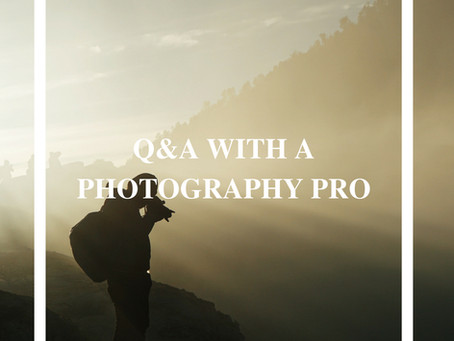TAKE THE BEST TRAVEL PHOTOS - Q&A WITH A PHOTOGRAPHY PRO