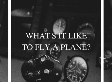 WHAT'S IT LIKE TO FLY A PLANE?