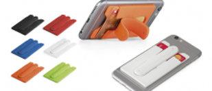 Smartphone card holder
