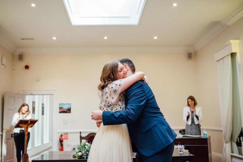 York Register Office Wedding - Charlotte