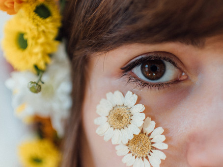 Flower Power: A Vintage Botanical-Inspired DIY Self Portrait Shoot