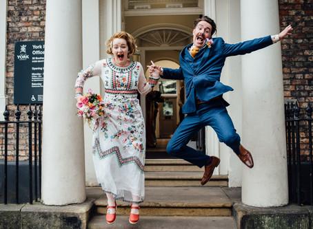 York Register Office Wedding - Kirsty & Ben