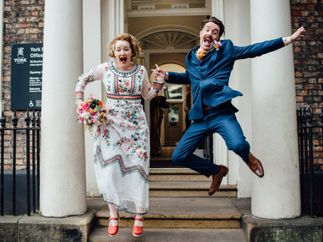 York Register Office Wedding - Kirsty & Ben
