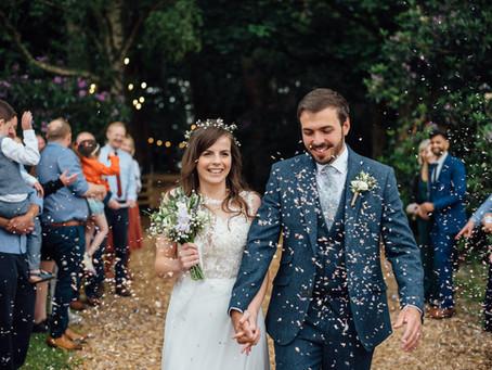 A Summer Solstice woodland wedding at Hobbit Hill