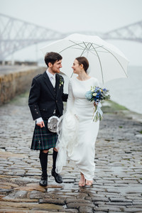 Forth bridge wedding photos