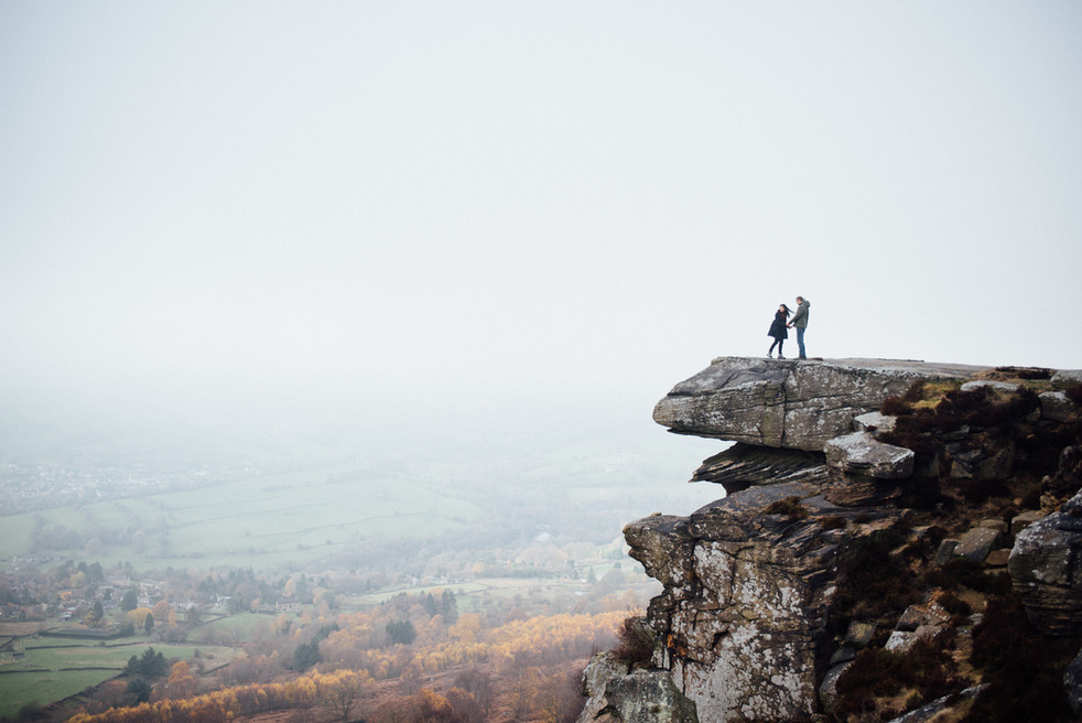 Curbar Edge Engagement