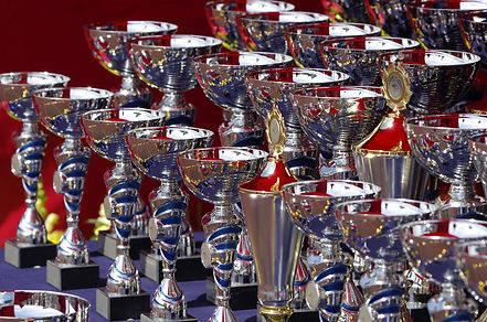 trophies sporting awards medals plaques
