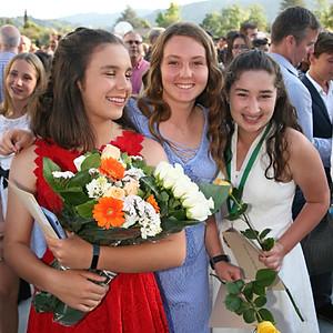 Angelina's graduation