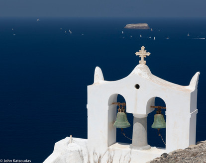 Santorini, Greece July 2018