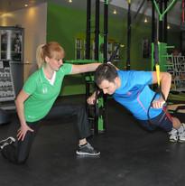 TRX push ups, sehr effektiv!