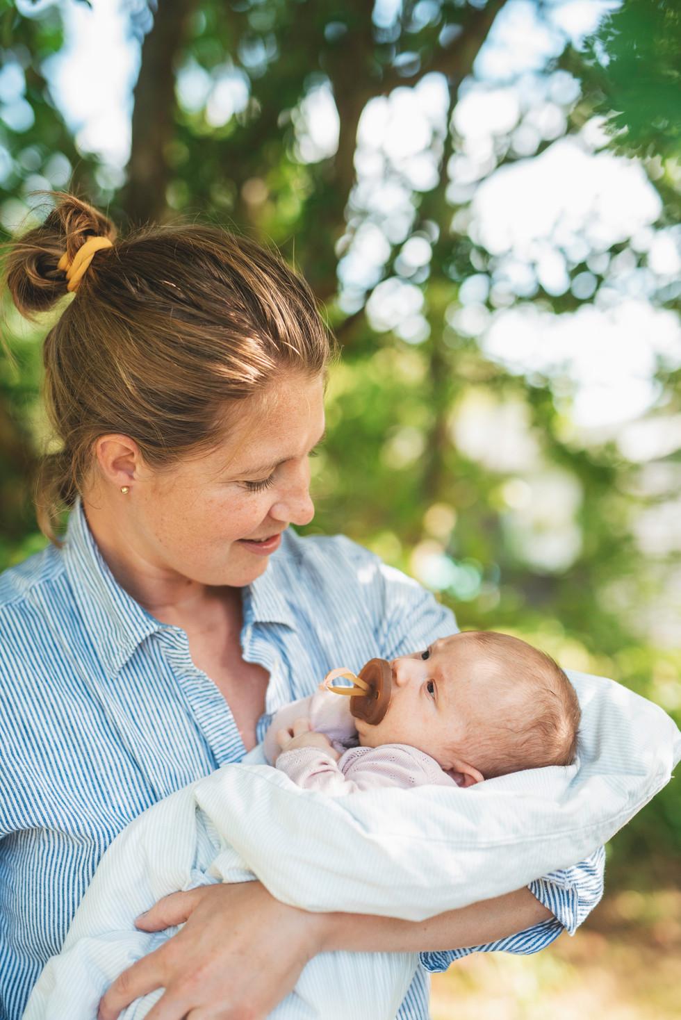Ingeborg & mother