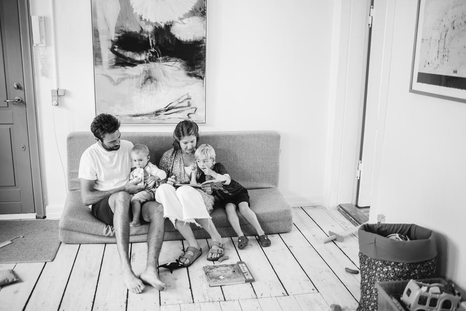 Tobias, Gertrud, Sidsel og Ebbe