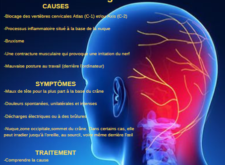La Névralgie d'Arnold traité en Ostéopathie