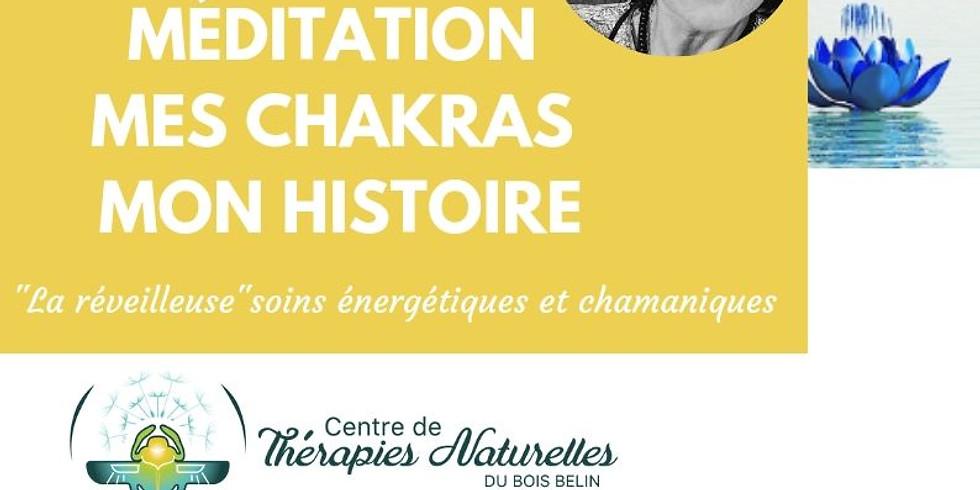 Méditation Mes Chakras Mon Histoire le 5 septembre 19:00-20:00 avec Virginie (1)
