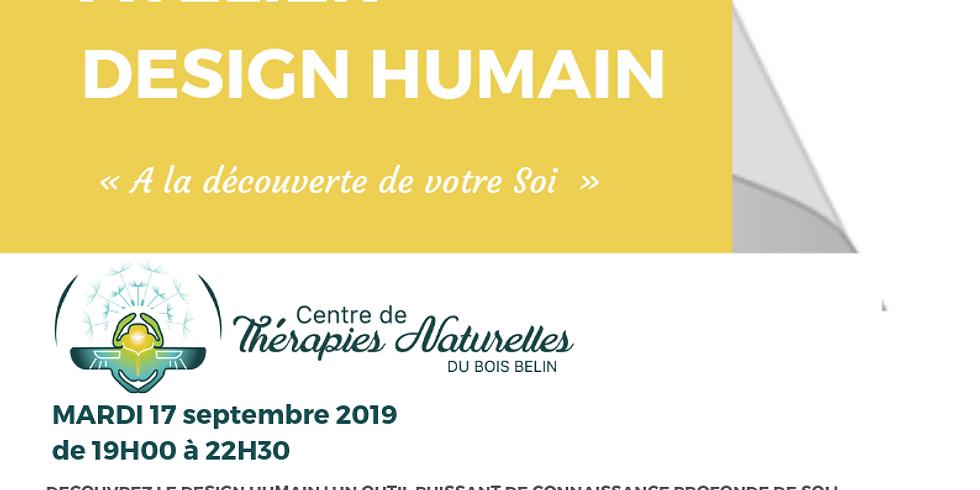 atelier: A La Découverte Du Design Humain ! Se connaître vraiment ! le mardi 17 septembre avec Yoann