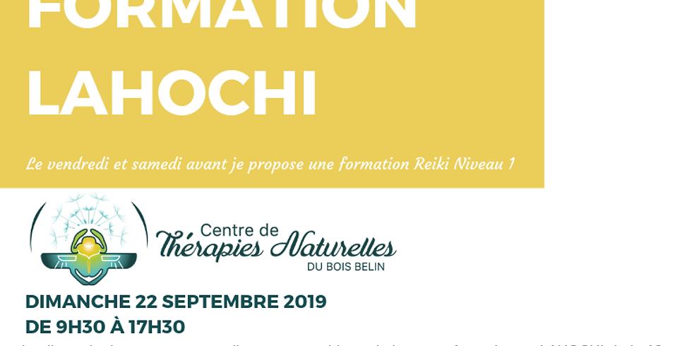 Formation LAHOCHI 22 septembre 2019 avec Cendrine Cassiede