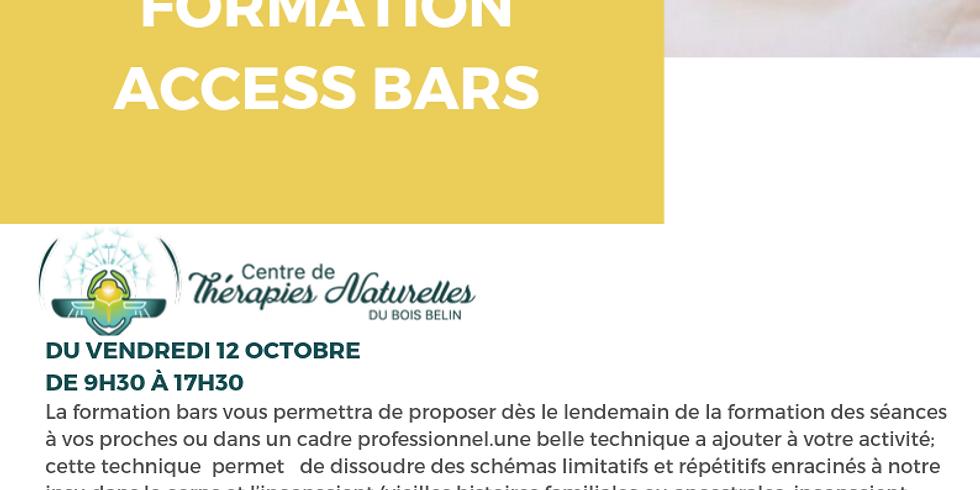 Formation Acces bars avec Cendrine CASSIEDE