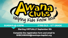 Awana Clubs Registration