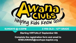 Awana Clubs Registration