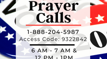 Election Day Prayer Calls