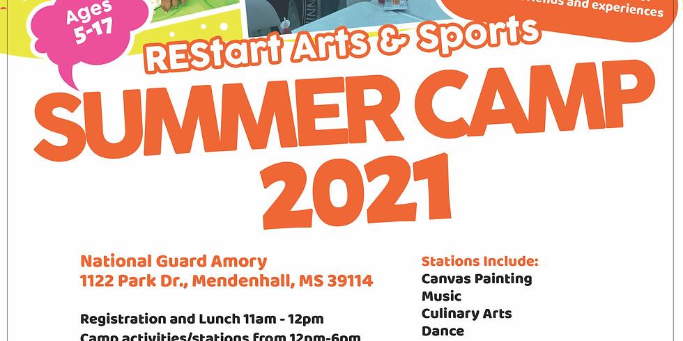 REStart Arts & Sports Summer Camp 2021 - Mendenhall